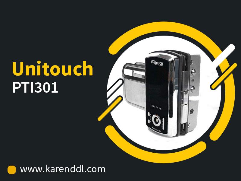 قفل دیجیتال شیشه سکوریت مدل PTI301
