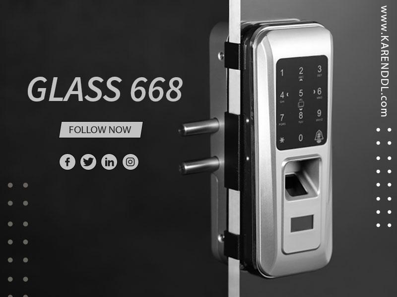 قفل شیشه سکوریت 668 روک