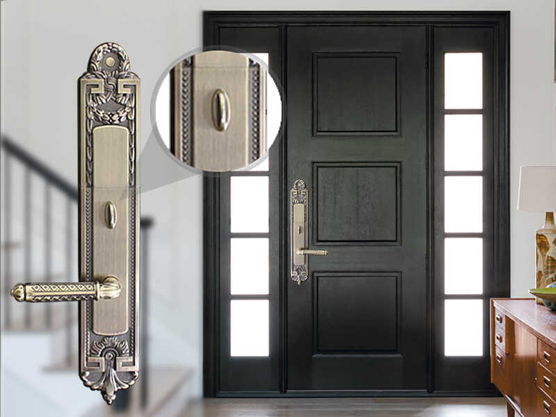 قفل کلاسیک درب