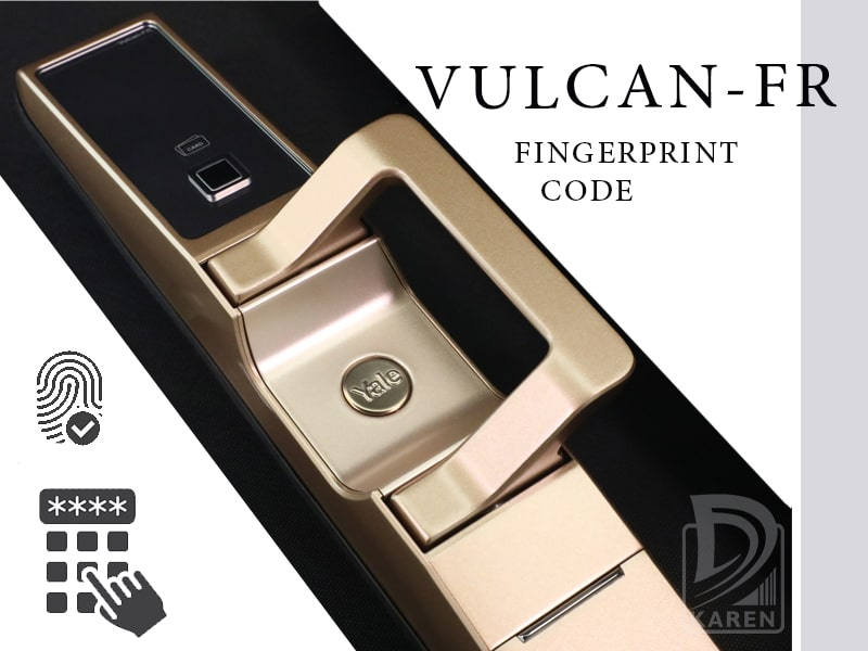 قفل دیجیتال یال VULCAN-FR