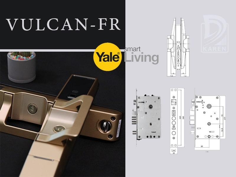 قیمت قفل دیجیتال یال VULCAN-FR