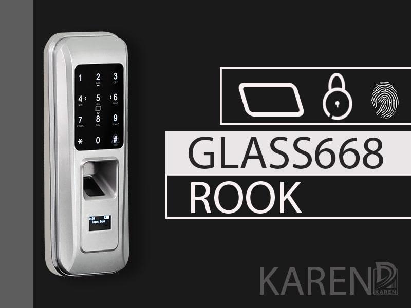 قفل دیجیتال شیشه سکوریت