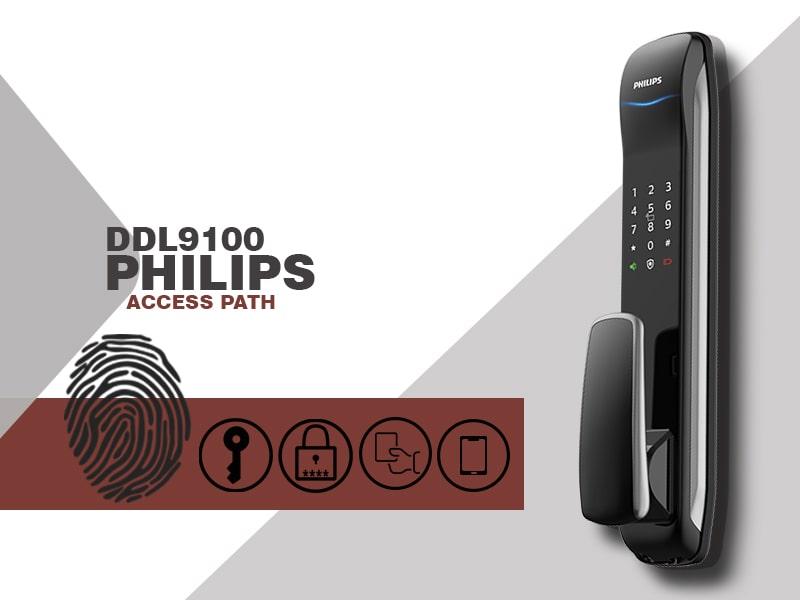 قفل PHILIPS DDL9100