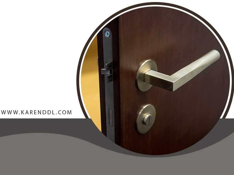 قفل درب