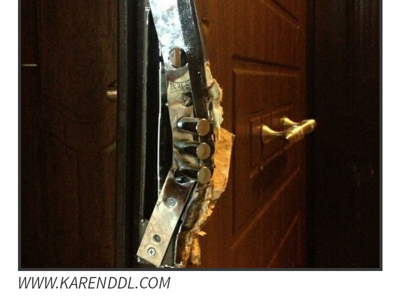 شکستن قفل