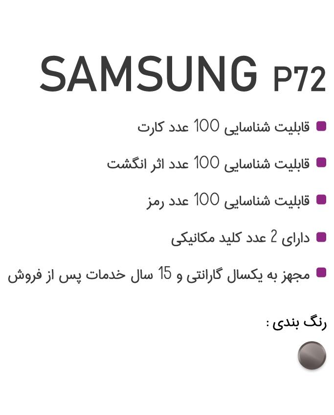 روش های دسترسی به قفل p72