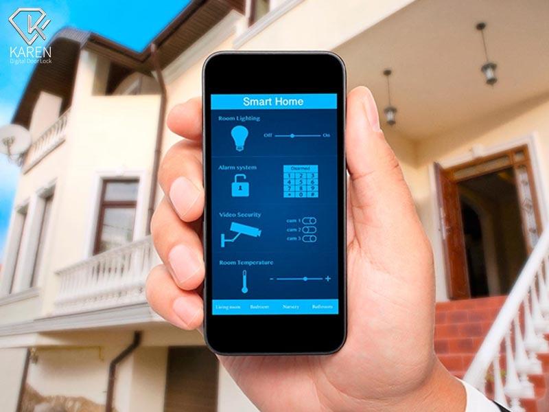 کنترل از راه دور خانه هوشمند