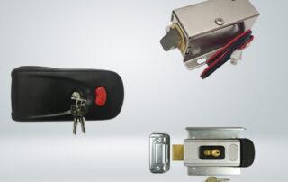 انواع قفل برقی درب حیاط